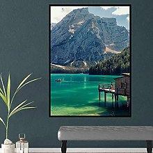 Chifang Lake Landscape Art Print Canvas Print Wall