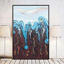 Chifang Mechanical Earth Canvas Print Painting