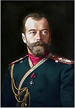 Chifang Tsar Nicholas II of Russia Portrait Poster