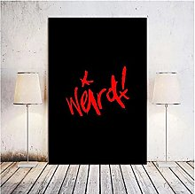 Chifang Yungblud weird Canvas Print Painting