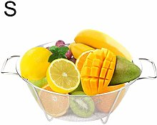 chifans Stainless Steel Mesh Colander, Sieve with