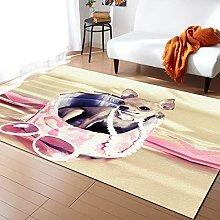 Chihuahua Handbag Carpet for Living Room Home