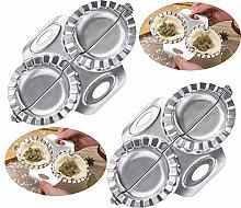 Chikanb 2 Pcs Ravioli Dumpling Maker Set Stainless