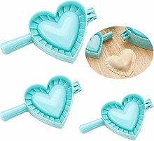 Chikanb 3 Pcs Heart Shaped Ravioli Dumpling Maker