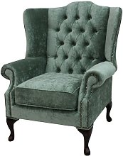 Chilcote Fabric Wingback Chair Rosalind Wheeler