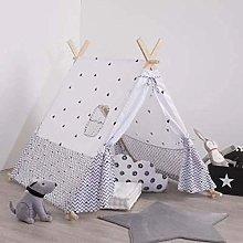 Child's Tent Teepee Black Decoration