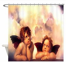 Child Shower Curtain, Waterproof and Mildew Proof