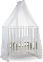 CHILDHOME Canopy Holder with Mosquito Net White