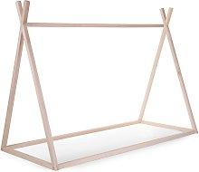 CHILDHOME Tip Bed Frame 90x200cm Wood Natural