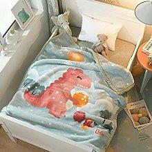 Children's Baby Blanket Doublelayer Thick Baby