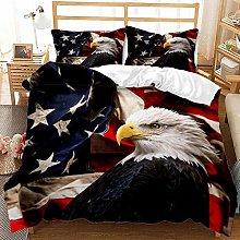 Children's Bedding Set Animal Theme 3D Eagle