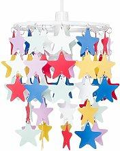 Children'S Bedroom / Multi Coloured Stars
