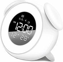 Children's Bedroom Night Light Alarm Clock by