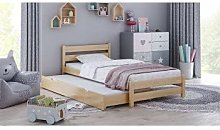 Children's Beds Home - Single Bed With Trundle