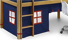 Children's Cabin Bed - Tent Only Blue -