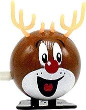 Children's Christmas Wind Up Toy Santa Claus
