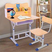 Children's Desk Chair Set, Adjustable Study