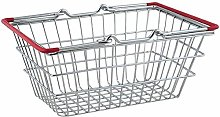 Children's Mini Metal Shopping Trolley &