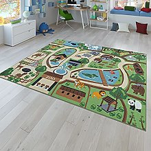 Children's Play Rug for Children's Room,