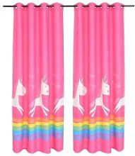 Children's Printed Blackout Curtains 2 pcs