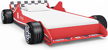 Children's Race Car Bed 90x200 cm Red - Red -