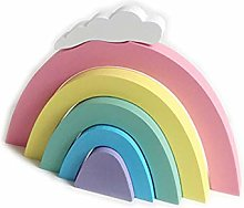 Children's Room Decoration Rainbow DIY Wooden