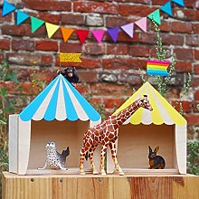 Children's Room Decoration Wooden Circus