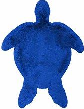Children's Rug Turtle Blue for Children's