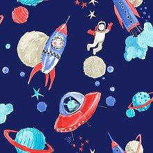 Children's Star Ship Space Man Rocket