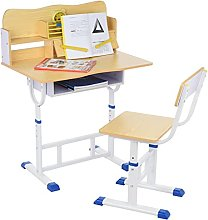 Children's Study Table Kids Desk and Chair Set