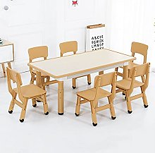 Children's Table and Chair Set, Height