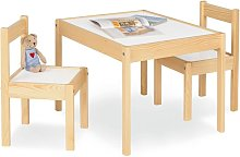 Children's Table and Chair Set Olaf - Beige -