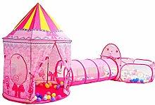 Children's tent dream pink princess tent, tipi