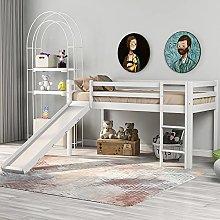Children's Wooden Cabin Bed,190x90cm
