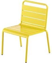 Children's Yellow Metal Chair