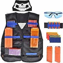 Children Adjustable Tactical Vest Set Protective