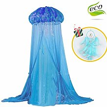 Children Bed Canopy Round Dome Mosquito Net,