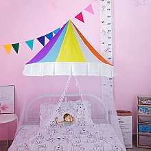 Children Bed Canopy With Mosquito Net Baby Castle