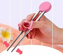 Children Beginner Stainless Steel Chopsticks