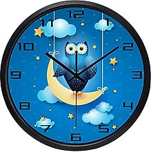 Children Decoration Wall Clock Trendy Slient