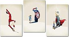Children Decorative Painting Super Hero Kids Baby