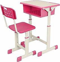 Children Desk Adjustable Student Desk Chair Set