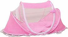Children Summer Mosquito Net Polka Dotted Portable