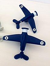 Childrens 19mm Aeroplane Curtain Pole Finials