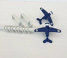 Childrens 19mm Aeroplane Extendable White Metal