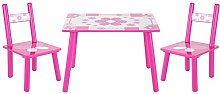 Childrens Kids Childs Wooden Table and Chair Set