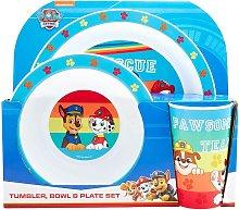 Childrens/Kids Tableware Set (Pack of 3) (One
