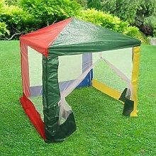 Childrens Outdoor Coloured Pop-up Gazebo