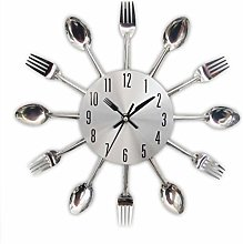 Chilits Cutlery Clock 3D Removable Modern Creative