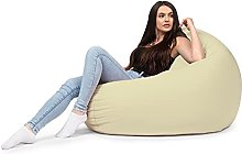 chilly pilley Beanbag Chair with EPS Beads Filling
